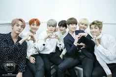 Bts heart cute group photo