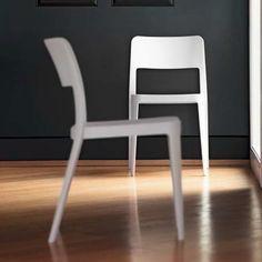 Chaise contemporaine en polypropylène - Nené Midj® - 1