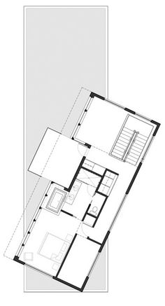 Interior, Autocad Drawing Design Plan Land Scape Plans Landscape Pictures Decorating Idea Inspiration Ideas Home Best Architecture Design Construction: Wonderful Elevated Above Mesmerising Views in Seattle: Ballard Cut Residence Modern House Plans, House Floor Plans, Architecture Plan, Amazing Architecture, Floor Plan Sketch, Modern Villa Design, Cedar Siding, Plan Drawing, House Design Photos