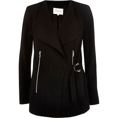 Black smart D-ring jacket £60.00