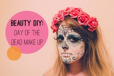 Beauty DIY: How To Do Day Of The Dead / Dia De Los Muertos Makeup PLUS Our First Ever YouTube Video!!!