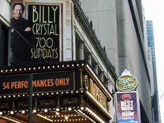Billy Crystal: 700 Sundays #Broadway #Theater #NYC