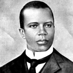 "Scott Joplin, pianist and composer, was responsible for the emergence and popularity of what came to be known as ""ragtime"" music. Largely forgotten after Joplin's death, ragtime made a comeback with the success of the movie ""The Sting"" in 1973, which featured one of his masterful compositions, ""The Entertainer.""  http://www.youtube.com/watch?v=fPmruHc4S9Q"