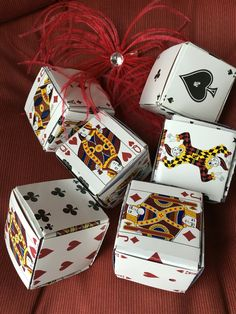 how to make a box out of playing cards