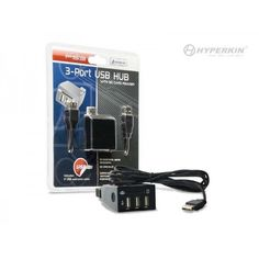 PS3 3-Port USB Hub with SD Card Reader New  #Hyperkin