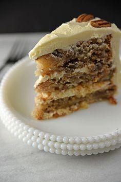 Hummingbird Cake Recipe | ©addapinch.com