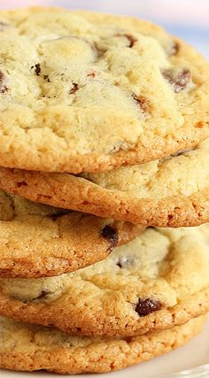 The Very Best Chocolate Chip Cookies