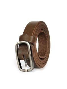 Dámsky kožený opasok DM-1,5-21-65 čokoládová 21st