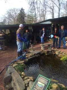 Starting a pond clean out class.