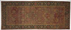 Iran, Herat, 16th century, senna knot: wool and cotton, Average: 771.70 x 307.30 cm (303 13/16 x 120 15/16 inches). Florence and Charles Abel Oriental Rug Collection by exchange 1962.263