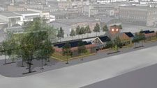 Next month Aspen City Council will look over final design plans for a remodel of Aspen's Rubey Park bus depot. One design feature may be hard to miss: green walls and a green roof. (http://livingarchitecturemonitor.com/index.php/news/allnews/403-remodel-of-aspen-s-rubey-park-includes-green-roof-and-walls) | #aspen #colorado #green #roof #walls #wall #greenroof #greenwall #greenroofs #greenwalls #vegetation #sustainable #eco #environmental