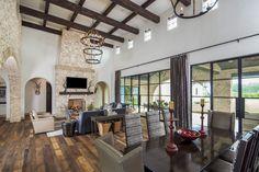 Architecture Home Rustic villa dining