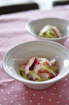セロリとタコの塩麹ナムル Favorite Recipes, Food, Hoods, Meals