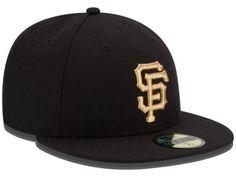 San Francisco Giants MLB 2014 WS Commemorative Gold AC 59FIFTY Cap Hats 0d95309e7b94