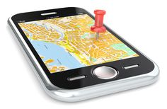 Online localization and tracking using mobile phone number and internet