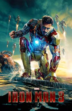 Iron Man 3 (B) Official Poster