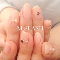 リングネイル 【M.SLASH センター北】 http://nail-beautynavi.woman.excite.co.jp/salon/483?pint ≪ #nail #nails #nailart #softgel #gelnail #ジェルネイル≫