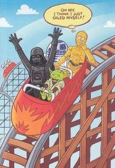 Star Wars Roller Coaster (via starwarsdaily/Instagram)