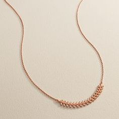 LC Lauren Conrad Runway Collection Curved Branch Necklace