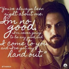 """Jack Pearson """"This is Us"""" Best New Shows, Favorite Tv Shows, Milo Ventimiglia, All Tv, Mandy Moore, Tv Show Quotes, Television Program, Tv Actors, This Is Us Quotes"""
