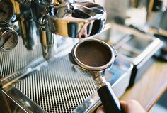 Espresso. Tamped and Stamped. Stumptown Coffee Roasters