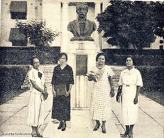 Vintage Haiti: Some very fashionable haitian women in the city, 1936. CIDIHCA Archived