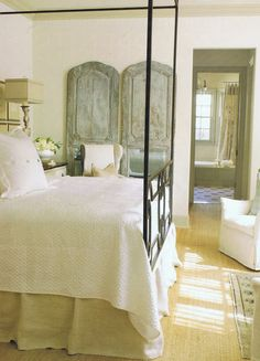 Lisa Luby Ryan Veranda '08 | rustic bedroom design