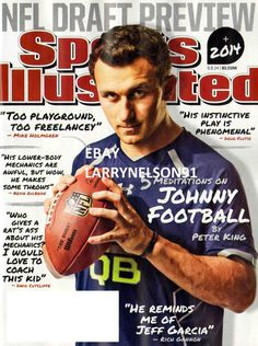 SPORTS ILLUSTRATED MAGAZINE MAY 5 2014 JOHNNY MANZIEL NFL DRAFT KEVIN DURANT OKC