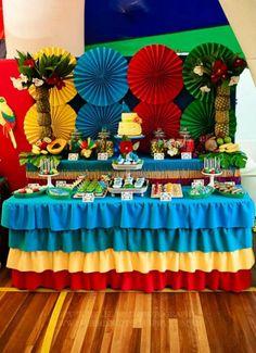 Kara's Party Ideas - Rio- filme-festa-temática11