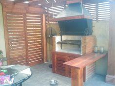 PERGOLAS Y QUINCHOS Outdoor Kitchen Design, Patio Design, Barbacoa, Backyard Patio, Bunk Beds, Bbq, Furniture, Home Decor, Fire Pit Grill