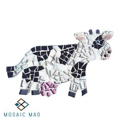 Mosaic Mad DIY project: COW