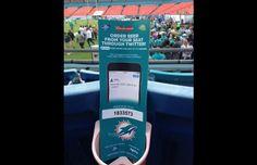 Nouveau dispositif digital innovant :  Les bières se commandent sur Twitter pendant les matchs des Miami Dolphins :)
