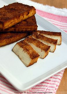 Smoked Tofu (without a smoker) by chow vegan, via Flickr