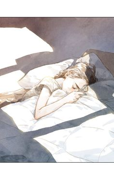 Beloved (Jaeliu) 12 - Read Beloved (Jaeliu) Online For Free - Stream 5 Edition 1 Page All - MangaPark Art And Illustration, Illustrations, Anime Art Girl, Manga Art, Yuumei Art, Art Sketches, Art Drawings, Sleeping Drawing, Sleeping Pose
