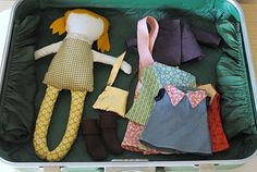 Modern Parents Messy Kids: Retro Toy Love: Suitcase Dollhouse