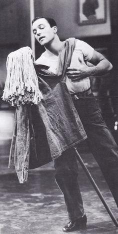 Gene Kelly, always dancing.