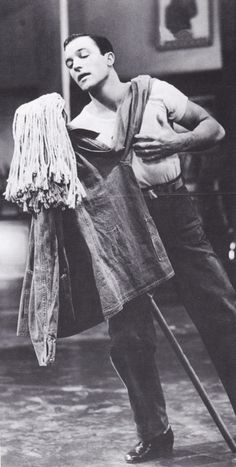 Gene Kelly could make a mop look like the most lovely dancing partner