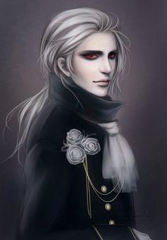 sexy vampire art | Vampire by leejun35