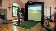 Simulator Series Golf Hitting Bay