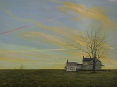 """Tidewater Flight Path,"" original oil painting, 18x24, Available at Rich Timmons Studio & Gallery, 3795gallery.com"