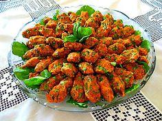 Cucina turca: polpette di lenticchie (Mercimek koftesi)
