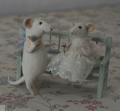 Stuffed Animals by Natasha Fadeeva - stuffed mice