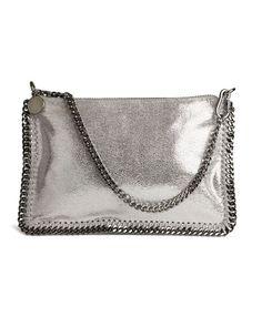 Stella McCartney- Small Chain Pouch -Silver
