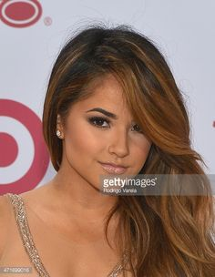 Becky G hair. Getty Images
