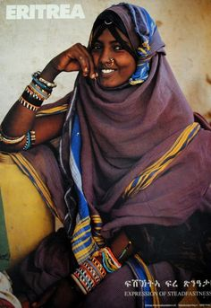 Eritrean Woman...gorgeous!