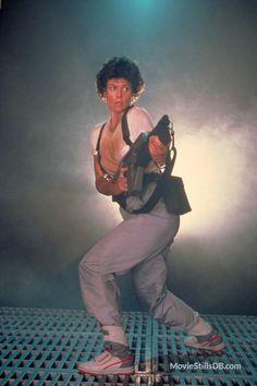 Aliens - Promo shot of Sigourney Weaver