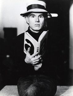 Andy Warhol promotional photo for his book A, 1970s    The Andy Warhol Museum, Pittsburgh; Founding Collection, Contribution The Andy Warhol Foundation for the Visual Arts, Inc.
