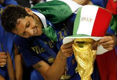 Marco Materazzi Italy worldcup winner 2006