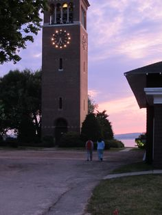 The Bell Tower at Chautauqua Institute, NY