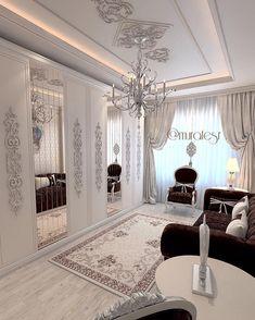 Paris Bedroom, Bedroom Decor, Luxury Homes Interior, Home Interior Design, Town House Plans, Bedroom Built Ins, Feminine Bedroom, Master Room, Glam Room